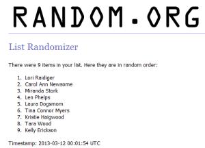 3-11 Random winner