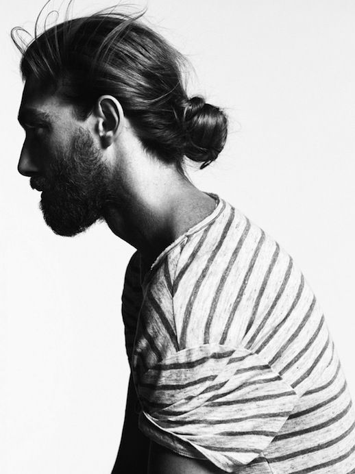 THE WIND SWEPT MAN BUN PROFILE