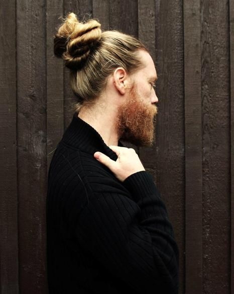 THE KISS MY NECK MAN BUN