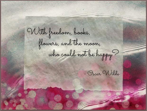 February Quote Wilde